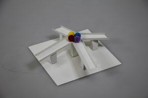 不思議なすべり台の立体模型