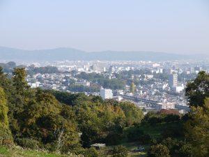 石垣山城からの眺望