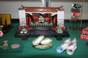 五月人形の豆雛