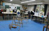 体験学習「身近な自然を楽しもう~水田の雑木林の生き物紹介と小物作り体験~」