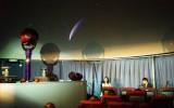プラネタリウムで映し出したハレー彗星とそれを背景に歌うアクアマリン